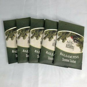 Set of 5 Nicole's Home Accent Balsam Pine Sachets